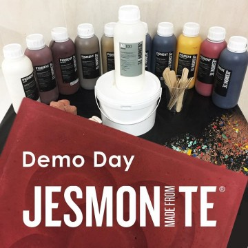 DEMO DAY at the Jesmonite...