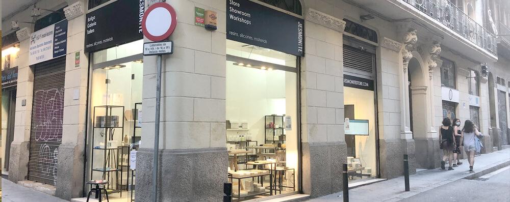 fachada jesmonite store barcelona